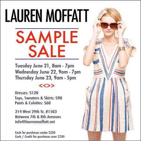Lauren Moffatt Spring Sale