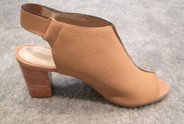 Open toe bootie for $75