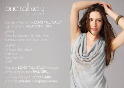 Long Tall Sally Pop-up Shop