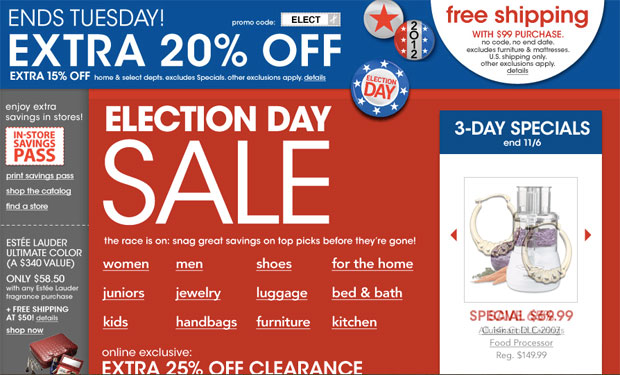Macy's Election Day Sale