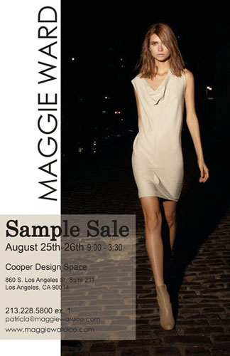 Maggie Ward Sample Sale
