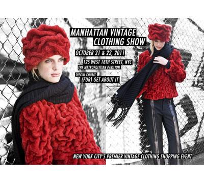 Manhattan Vintage Clothing Show: 10/21 - 10/22