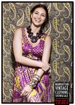 Manhattan Vintage Clothing Show & Sale 4/29 - 4/30
