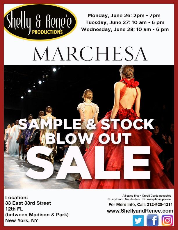Marchesa Sample & Stock Sale