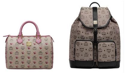 MCM Designer Handbags Sample Sale