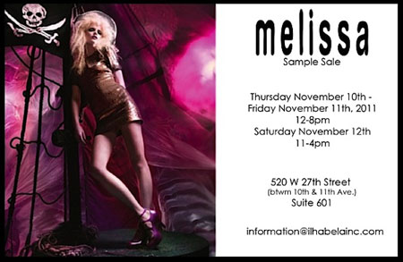 Melissa Shoes Sample Sale