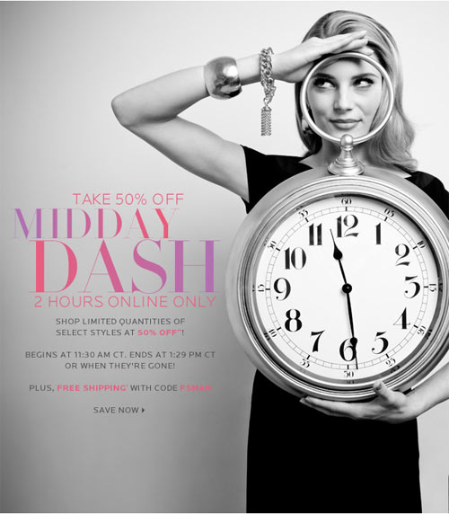 Neiman Marcus Midday Dash