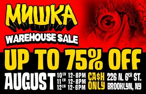 Mishka NYC Warehouse Sale