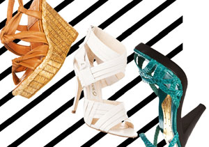 Most Wanted Footwear: Timely Trends