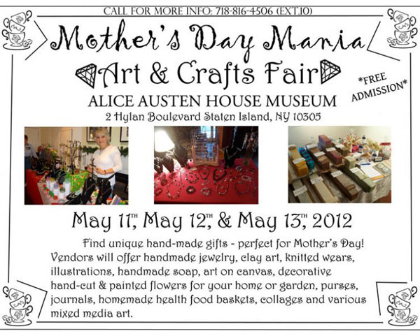 Mother's Day Arts and Crafts Fair
