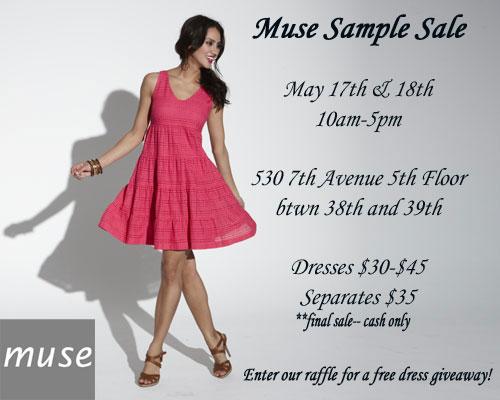 Muse Sample Sale