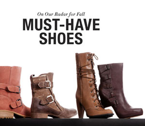 On Our Radar: Fall's Must-Have Shoes