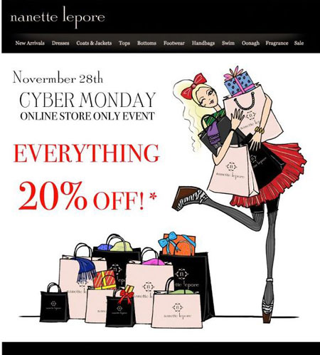 Nanette Lepore Cyber Monday Online Sale