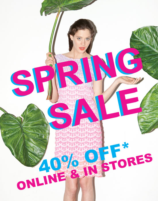 Nanette Lepore Spring Retail Sale