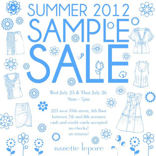 Nanette Lepore Sample Sale
