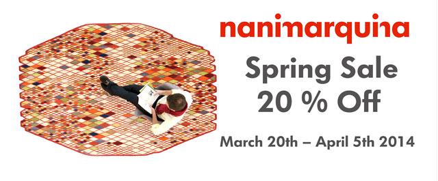 nanimarquina Spring Sale