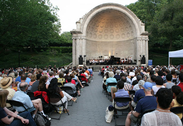 New York Grand Opera at Central Park