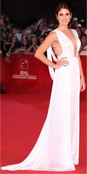Nikki Reed wearing Maria Lucia Hohan dress at