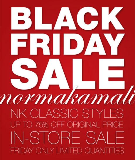 Norma Kamali Black Friday Sale