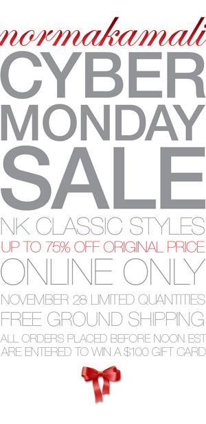 Norma Kamali Cyber Monday Online Sale