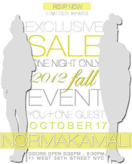 Norma Kamali OMO One-Day Sale