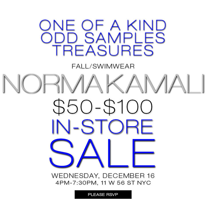 Norma Kamali One-Day Sale