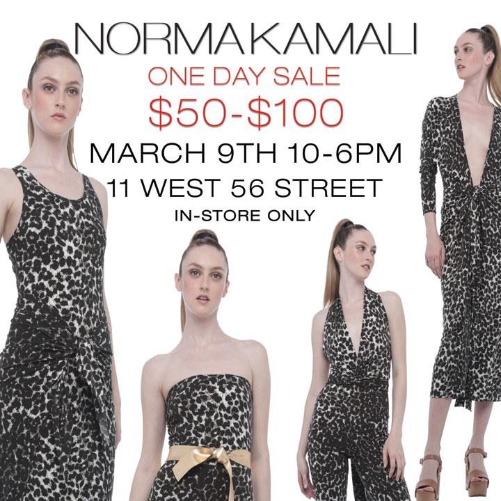 Norma Kamali One-Day Sale