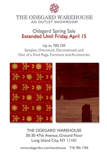 Odegard Warehouse Sale