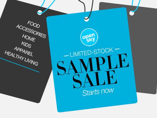The OpenSky Online Sample Sale