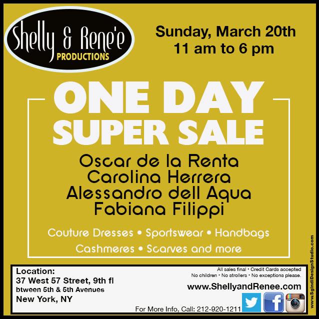Oscar de la Renta, Carolina Herrera, & More Super Sale