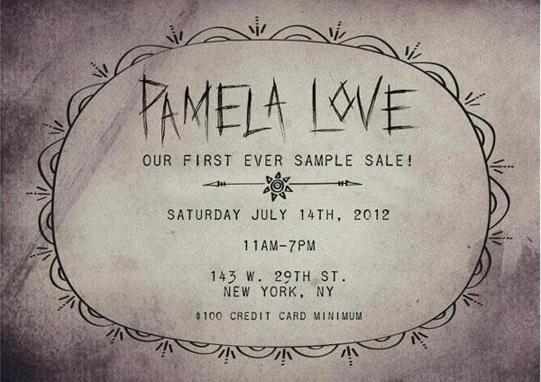 Pamela Love Sample Sale