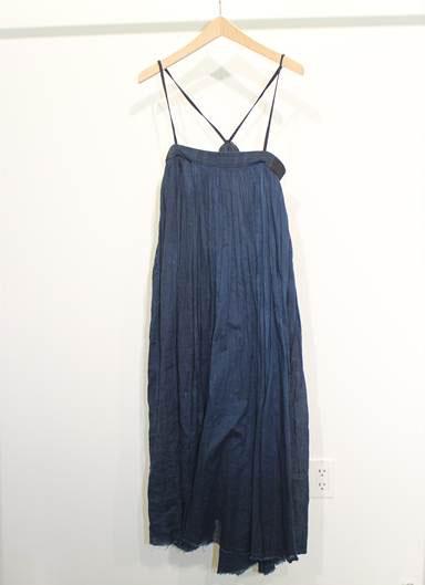 Indigo Dyed Dress: $90 (orig. $430)