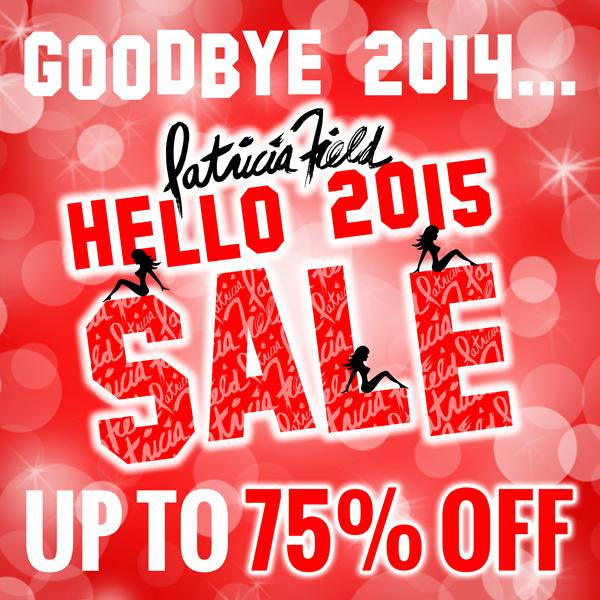 Patricia Field Goodbye 2014 Sale