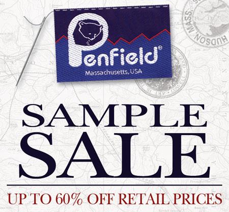 Penfield Sample Sale