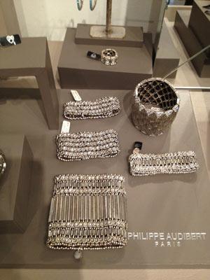 Philippe Audibert Silver Jewelry embellished with Swarovski