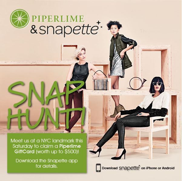 Snapette & Piperlime Scavenger Hunt