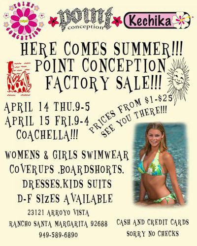 Point Conception Factory Sale