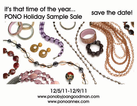 PONO Holiday Sample Sale