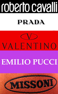 Prada, Pucci, Cavalli, Valentino, Missoni Sample Sale