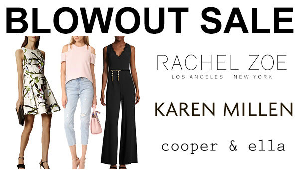 Rachel Zoe, Karen Millen, & More Blowout Sale