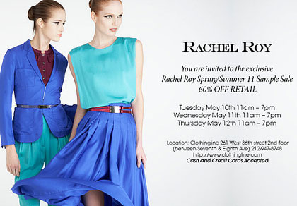 Rachel Roy Sample Sale