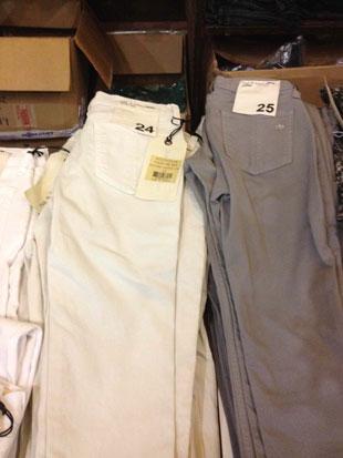 Rag & Bone Coated White Zipper Capri ($95)