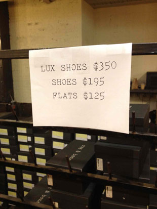 Rag & Bone Lux Shoes $350, Shoes $195, and Flats $125