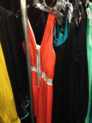 Rag & Bone Lemon Yellow Chelsea Dress ($195), the Carmine Parachute Dress in Midnight Blue ($195), the Midnight Cholo Dress ($195), Bluebird Leonard Dress