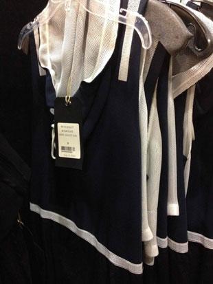Rag & Bone Carmine Parachute Dress in Midnight Blue ($195)