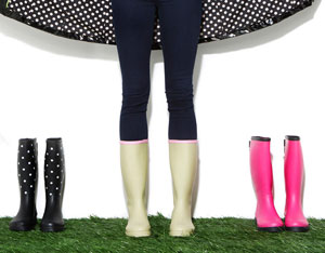 Perfectly Paired: Rainboots & Raincoats