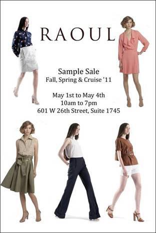 RAOUL Clothing New York Sample Sale - TheStylishCity.com