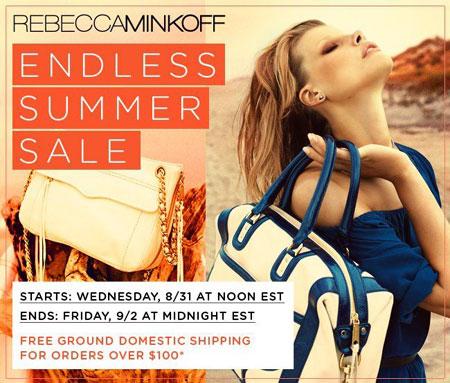 Rebecca Minkoff Endless Summer Online Sale