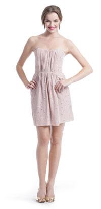 Rebecca Taylor Blush Mirror Dress ($74)