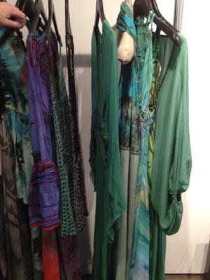 Reina and Roses floor length dresses, bikinis, and more at X'Tige Showrooom Sample Sale